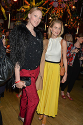 Left to right, JADE PARFITT and DONNA AIR at the Cointreau Creative Crew Award at Liberty, Great Marlborough Street, London on 24th May 2016.