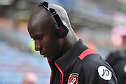 Bournemouth Forward, Benik Afobe (9)  during the Premier League match between Burnley and Bournemouth at Turf Moor, Burnley, England on 10 December 2016. Photo by Mark Pollitt.