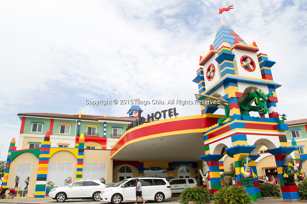 The Legoland Hotel at Legoland in Carlsbad, California. The three-story, 250-room hotel is located at the entrance of Legoland California theme park. (Photo by Ringo Chiu/PHOTOFORMULA.com)