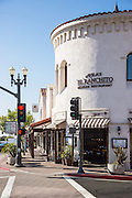 Avila's El Ranchito Mexican Restaurant at the Corner of Ola Vista and Del Mar in Downtown San Clemente