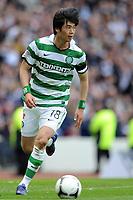Football - Scottish Cup Semi-Final - Celtic vs. Heart of Midlothian<br /> Ki Sung Yong (Celtic) at Hampden Park.