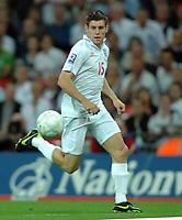James Milner (Eng) . England v Croatia 09/09/2009 Wembley 1604 Credit : Colorsport / Andrew Cowie