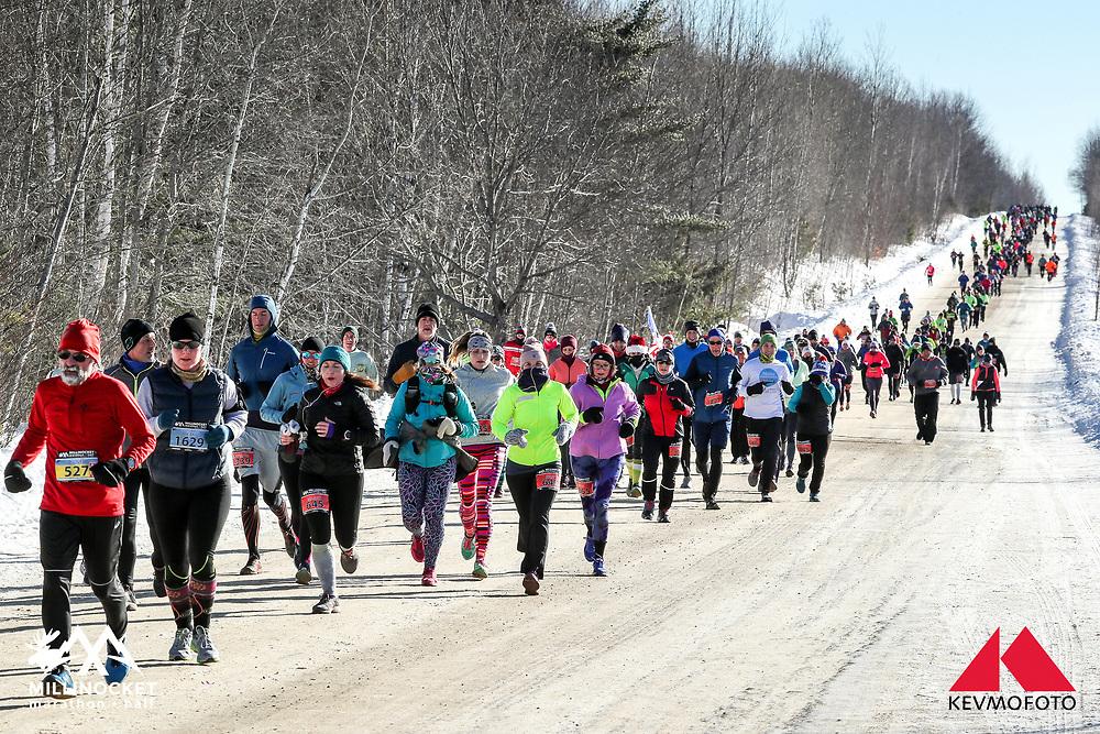 Millinocket Marathon and Half<br /> Golden Road