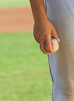 Baseball Pitcher Holding Ball
