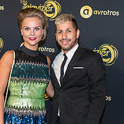 NLD/Amsterdam/20191009 - Uitreiking Gouden Televizier Ring Gala 2019, Stijn Fransen en Jody Bernal