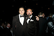 DAVID WALLIAMS; EVGENY LEBEDEV, Grey Goose Winter Ball to Benefit the Elton John AIDS Foundation. Battersea park. London. 29 October 2011. <br /> <br />  , -DO NOT ARCHIVE-© Copyright Photograph by Dafydd Jones. 248 Clapham Rd. London SW9 0PZ. Tel 0207 820 0771. www.dafjones.com.