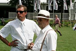 Philippaerts Ludo and Melchior Leon<br /> CSIO Lummen 2006<br /> Photo © Hippo Foto