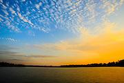 Sunrise at Lake Robinson - South Carolina