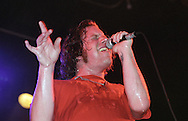 Chad Price performs with his band ALL during a concert in Detroit, Michigan on July 29, 2000.