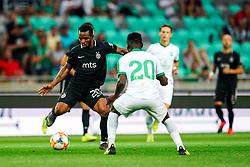 during friendly football match between NK Olimpija Ljubljana and FK Partizan, on July 6, 2019 in Arena Stozice, Ljubljana, Slovenia. Photo by Matic Klansek Velej / Sportida