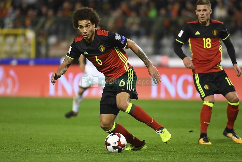 October 10, 2017 - Bruxelles, Belgique - Axel Witsel midfielder of Belgium (Credit Image: © Panoramic via ZUMA Press)