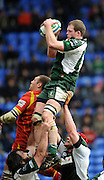 Reading, GREAT BRITAIN, Exiles, Phil MURPHY,  taking a clean line out ball catch, during the Heineken, Quarter Final, Cup rugby match,  London Irish vs Perpignan, at the Madejski Stadium on Sat 05.04.2008 [Photo, Peter Spurrier/Intersport-images]