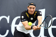 Jan-Lennard Struff during the Mercedes Cup at Tennisclub Weissenhof, Stuttgart, Germany.<br /> Picture by EXPA Pictures/Focus Images Ltd 07814482222<br /> 09/06/2016<br /> *** UK &amp; IRELAND ONLY ***<br /> EXPA-EIB-160609-0027.jpg