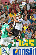 Kyle Naughton in action during the pre season friendly at Carrow Road Stadium, Norwich...Picture by Paul Chesterton/Focus Images Ltd.  07904 640267.6/8/11