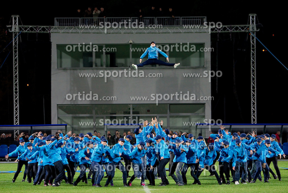 Opening ceremony after rebuilding the Bonifika football stadium, on October 29, 2010 in Koper - Capodistria, Slovenia. (Photo By Vid Ponikvar / Sportida.com)