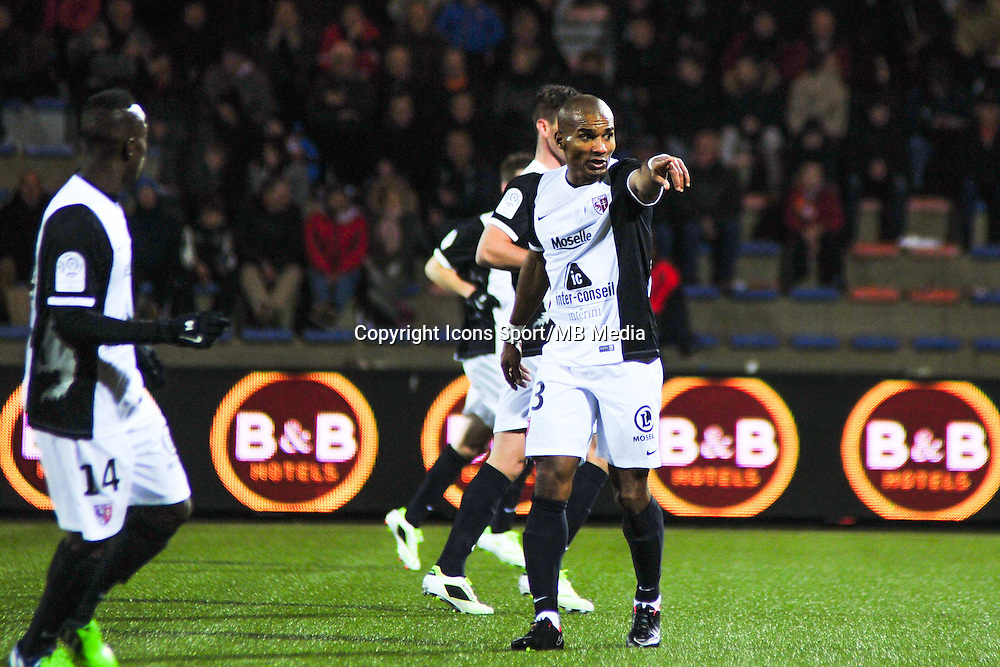 Florent Malouda - 13.12.2014 - Lorient / Metz  - 18eme journee de Ligue1<br />Photo : Philippe Lebrech / Icon Sport