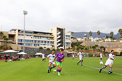 A general view as Bristol City take on Atletico Union Guimar in Tenerife - Mandatory by-line: Matt McNulty/JMP - 22/07/2017 - FOOTBALL - Tenerife Top Training - Costa Adeje, Tenerife - Bristol City v Atletico Union Guimar  - Pre-Season Friendly