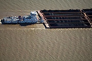In the United States, barge transportation is over 150 percent more fuel efficient than rail transport and over 700 percent more fuel efficient than trucking.