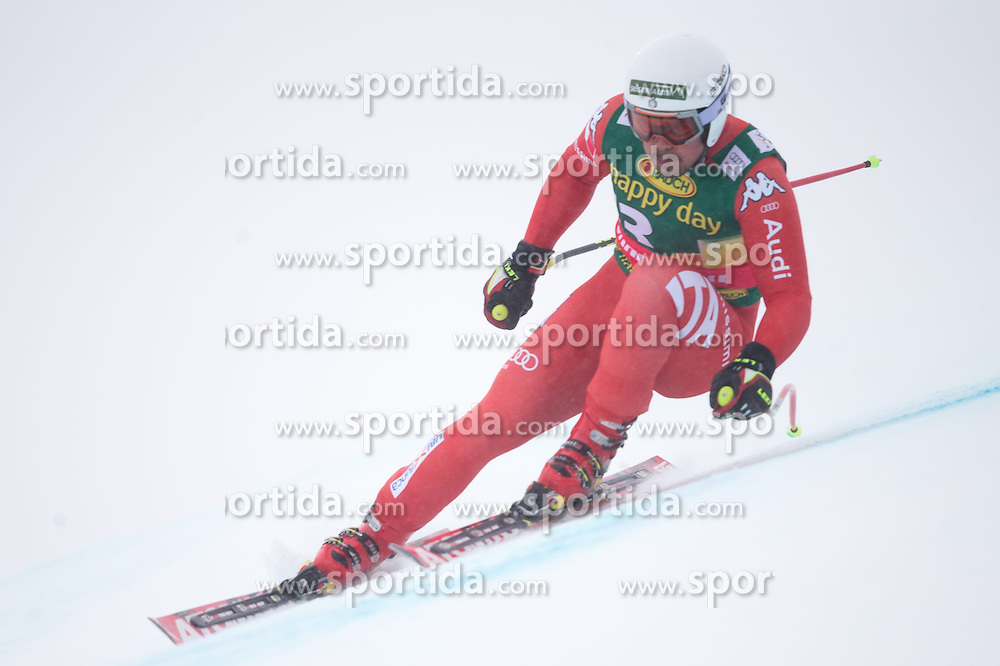 22.02.2015, Schneekristall Zwolfer Weltcupstrecke, Saalbach Hinterglemm, AUT, FIS Weltcup Ski Alpin, Super G, Herren, im Bild Peter Fill (ITA) // Peter Fill of Italy in action during the men's SuperG of the Saalbach FIS Ski Alpine World Cup at the Schneekristall Zwolfer course in Saalbach Hinterglemm, Austria on 2015/02/22. EXPA Pictures © 2015, PhotoCredit: EXPA/ Johann Groder