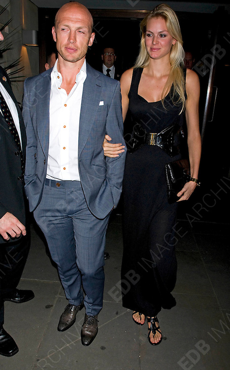 16.AUGUST.2011. LONDON<br /> <br /> MATT DAWSON AND CAROLIN HAUSKELLER AT THE AFTERPARTY AT AQUA FOR THE WORLD PREMIERE OF THE INBETWEENERS MOVIE IN LONDON<br /> <br /> BYLINE: EDBIMAGEARCHIVE.COM<br /> <br /> *THIS IMAGE IS STRICTLY FOR UK NEWSPAPERS AND MAGAZINES ONLY*<br /> *FOR WORLD WIDE SALES AND WEB USE PLEASE CONTACT EDBIMAGEARCHIVE - 0208 954 5968*