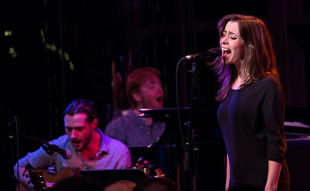 Cristin Milioti with Will Connolly and David Abeles