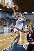 DESCRIZIONE : Ragusa Qualificazione Europei Donne 2015 Italia Lettonia Italy Latvia<br /> GIOCATORE : Chiara Consolini<br /> CATEGORIA : Tiro Sottomano<br /> EVENTO : Qualificazioni Europei Donne 2015<br /> GARA : Italia Lettonia Italy Latvia<br /> DATA : 25/06/2014 <br /> SPORT : Pallacanestro<br /> AUTORE : Agenzia Ciamillo-Castoria/GiulioCiamillo<br /> Galleria : FIP Nazionali 2014<br /> Fotonotizia : Ragusa Qualificazioni Europei Donne 2015 Italia Lettonia Italy Latvia<br /> Predefinita: