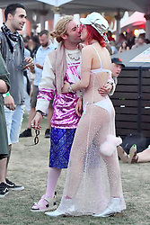EXCLUSIVE: Bella Thorne and her boyfriend Mod Sun dance to music at Coachella . Bella wore a see through dress and white underwear. she was all smiles as she danced around with her boyfriend as Portugal The Man played. In the end they were seen packing on the PDA with some kisses. 15 Apr 2018 Pictured: Bella Thorne and Mod Sun. Photo credit: Marksmen / MEGA TheMegaAgency.com +1 888 505 6342