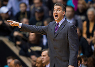 WEST LAFAYETTE, IN - JANUARY 13: Head coach Matt Painter of the Purdue Boilermakers seen on the sidelines during the game against the Penn State Nittany Lions at Mackey Arena on January 13, 2013 in West Lafayette, Indiana. (Photo by Michael Hickey/Getty Images) *** Local Caption *** Matt Painter