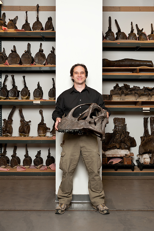 Jack Conrad, paleontologist, American Museum of Natural History