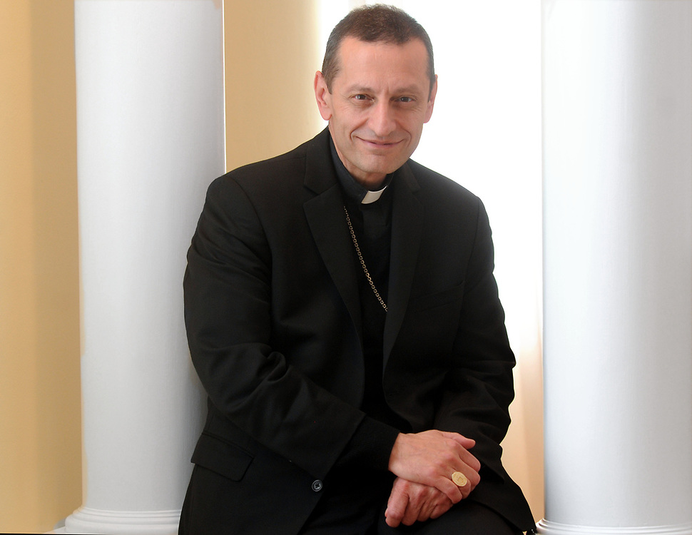 (Mara Lavitt &mdash; New Haven Register) <br /> October 4, 2013 Bridgeport.<br /> The archdiocese of Bridgeport has a new head: Bishop Frank J. Caggiano.