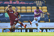 Jordan Williams shoots during the EFL Sky Bet League 1 match between Bradford City and Rochdale at the Northern Commercials Stadium, Bradford, England on 20 October 2018.