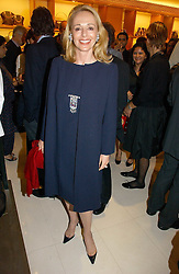 JUDY TAUBMAN wife of Alfred Taubman at a party to celebrate the publication of 'Made for Maharajas' by Dr Amin Jaffer hosted by Louis Vuitton at their store on Sloane Street, London on 10th October 2006.<br /><br />NON EXCLUSIVE - WORLD RIGHTS
