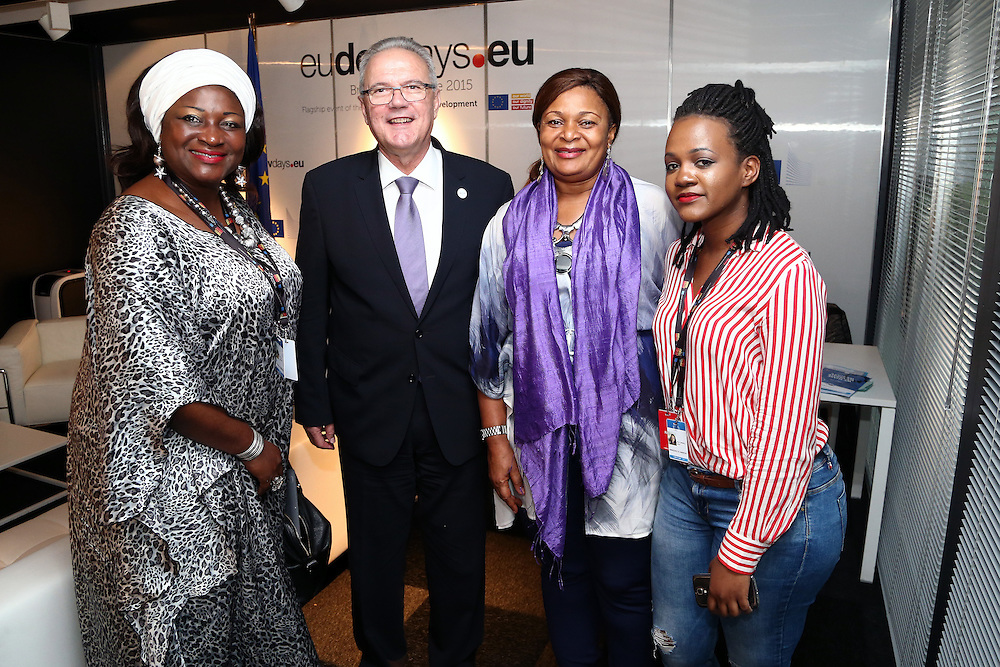20150604- Brussels - Belgium - 04 June 2015 - European Development Days - EDD  - Bilateral Meeting - Neve Mimica , European Commissioner for Development © EU/UE