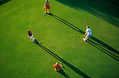 Golfing photography