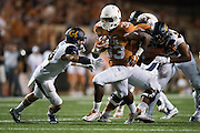 AUSTIN, TX - SEPTEMBER 19:  D'Onta Foreman #33 of the Texas Longhorns breaks free against the California Golden Bears on September 19, 2015 at Darrell K Royal-Texas Memorial Stadium in Austin, Texas.  (Photo by Cooper Neill/Getty Images) *** Local Caption *** D'Onta Foreman