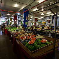 Some of the fresh fruit and vegetables on offer at Rusty's Market in Cairns.