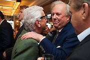 NICKY HASLAM; GRAYDON CARTER, Vanity Fair Lunch hosted by Graydon Carter. 34 Grosvenor Sq. London. 14 May 2013