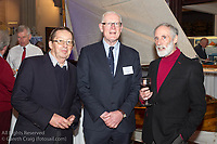 (l to r) W M Nixon (Afloat Magazine), Martin McCarthy, and Vincent Delany attending the official launch of Volvo Dún Laoghaire Regatta 2017 in the National Maritime Museum of Ireland on Wednesday evening. The Regatta will be among the biggest mass-participatory sporting event in Ireland this year (eclipsed for numbers only by the city marathons).