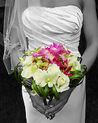Bridal Bouquet with purple orchids, green orchids and white roses. flowers costa rica, Photographers in Costa Rica, getting married in costa rica, costa rica marriage requirements, costa rica photography, costa rica marriage traditions, wedding cr