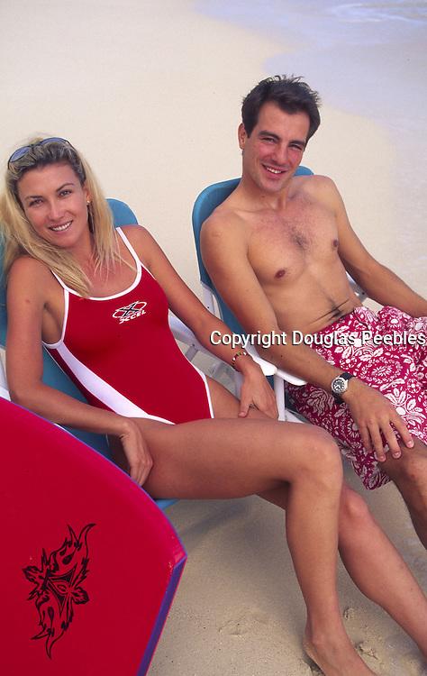 Couple on Beach, Hawaii, USA<br />