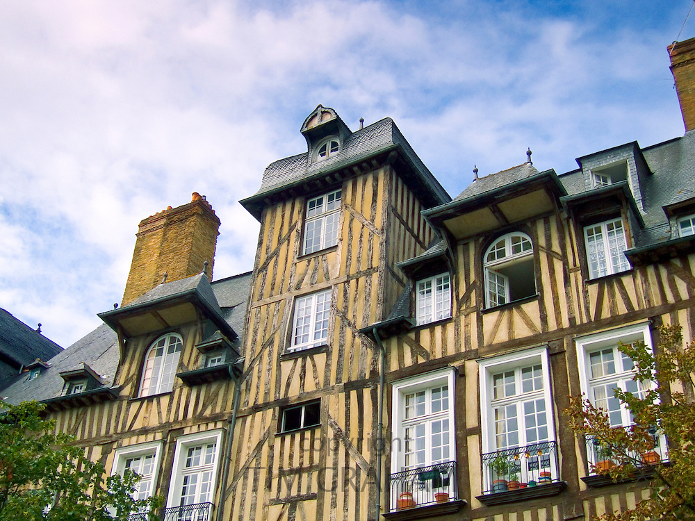 French architecture, Rennes, France