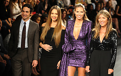 Judges Zac Posen, Jessica Alba, Heidi Klum and Nina Garcia introduce the Project Runway fashion show during New York Fashion Week at Gallery 1, Skylight Clarkson Sq on September 8, 2017 in New York City. Photo by Dennis Van Tine/ABACAPRESS.COM