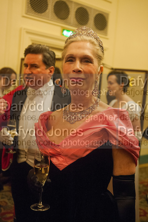 LADY GEORGIA CAMPBELL, THE ST PETERSBURG BALL in aid of the Children's Burns Trust. Landmark Hotel. London. 2 February 2013