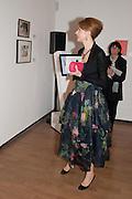 LYUBA GALKINA, Royal Academy Schools Annual dinner and Auction 2012. Royal Academy. Burlington Gdns. London. 20 March 2012.