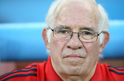 Head coach of Spain Luis Aragones before the UEFA EURO 2008 Quarter-Final soccer match between Spain and Italy at Ernst-Happel Stadium, on June 22,2008, in Wien, Austria. Spain won after penalty shots 4:2. (Photo by Vid Ponikvar / Sportal Images)