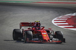 November 3, 2019, Austin, United States of America: Motorsports: FIA Formula One World Championship 2019, Grand Prix of United States, ..#16 Charles Leclerc (MCO, Scuderia Ferrari Mission Winnow) (Credit Image: © Hoch Zwei via ZUMA Wire)