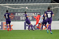 Il gol di Djalma Campos Paok<br /> Goal Celebration Paok <br /> Firenze 24-11-2016  Stadio Artemio Franchi<br /> Europa League Fiorentina - Paok<br /> Foto Luca Pagliaricci / Insidefoto
