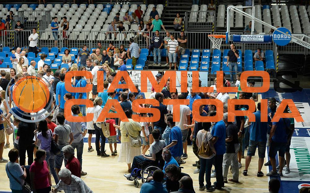 DESCRIZIONE : Cantu' Lega A 2013-14 Raduno pallacanestro Cantu'<br /> GIOCATORE : Pallacanestro Cantu'<br /> CATEGORIA : panoramica palazzetto arena<br /> SQUADRA : Pallacanestro Cantu'<br /> EVENTO : Campionato Lega A 2013-2014<br /> GARA : Raduno pallacanestro Cantu'<br /> DATA : 25/08/2013<br /> SPORT : Pallacanestro <br /> AUTORE : Agenzia Ciamillo-Castoria/R.Morgano<br /> Galleria : Lega Basket A 2012-2013  <br /> Fotonotizia : Cantu' Lega A 2013-14 Raduno pallacanestro Cantu'<br /> Predefinita :