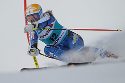 09.12.2012, Engiadina Rennstrecke, St. Moritz, SUI, FIS Ski Alpin Weltcup, Riesenslalom, Damen, 1. Lauf, im Bild Jessica Lindell - Vikarby (SWE) // in action during 1st run of ladies Giant Slalom of FIS ski alpine world cup at the Engiadina course, St. Moritz, Switzerland on 2012/12/09. EXPA Pictures © 2012, PhotoCredit: EXPA/ Freshfocus/ Andreas Meier..***** ATTENTION - for AUT, SLO, CRO, SRB, BIH only *****