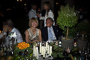 ANNA WINTOUR AND DIEGO LA VALLE, Luomo Vogue 40th Anniversary dinner. Palazzo Litta. Milan. 22 June 2008 *** Local Caption *** -DO NOT ARCHIVE-© Copyright Photograph by Dafydd Jones. 248 Clapham Rd. London SW9 0PZ. Tel 0207 820 0771. www.dafjones.com.